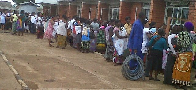 Service delivery at Kanyama clinic