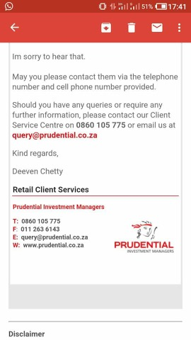 'Prudential insurance scammed me'