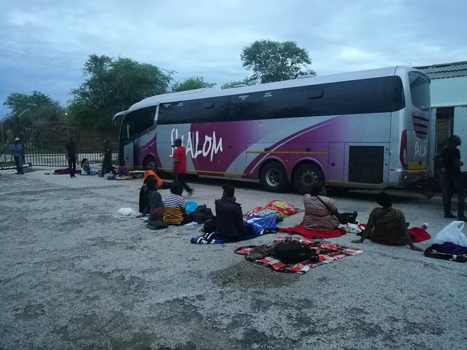 Another unserviced Shalom bus from SA breaks down