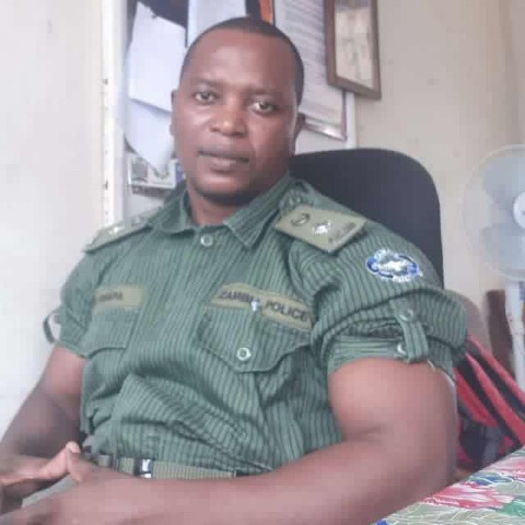 Photos of the day : one of the cops fired by Lungu