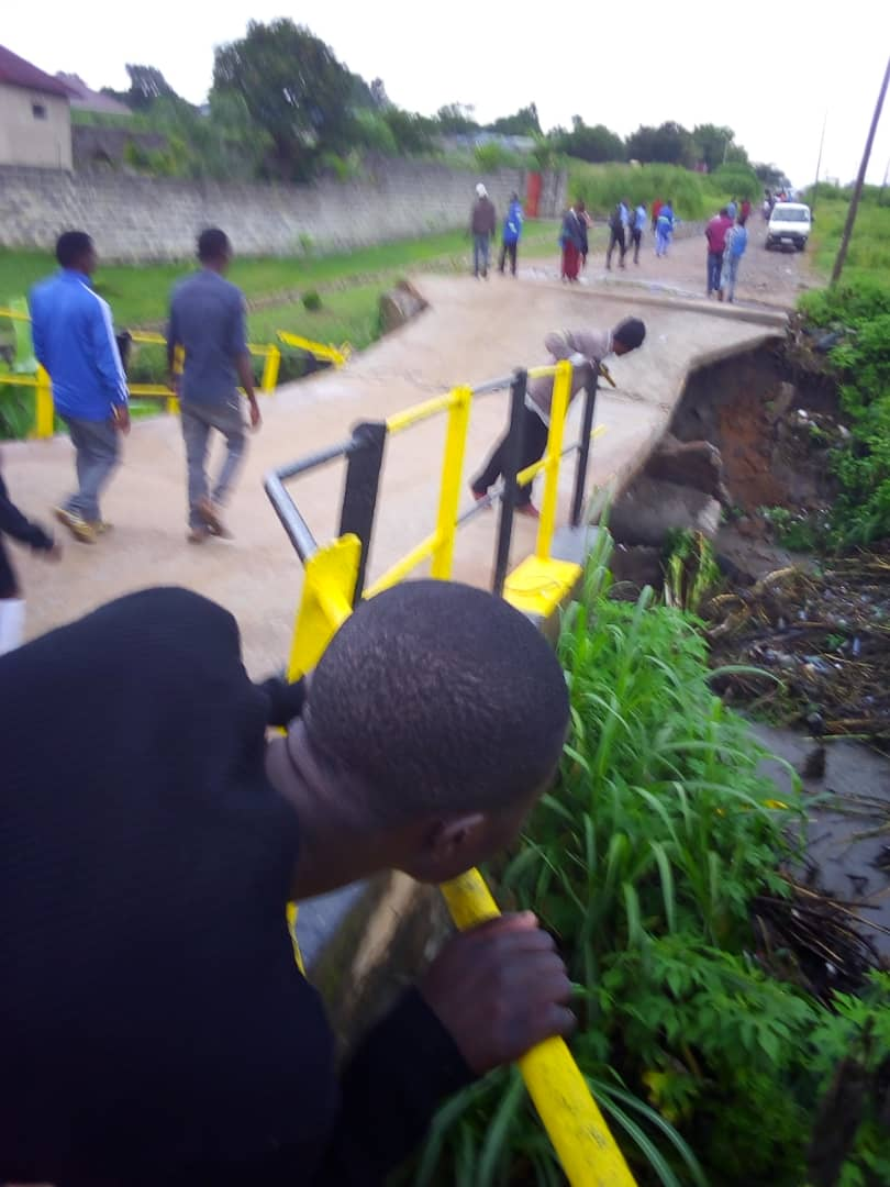 Photos of the day: Joseph Malanji bridge collapse