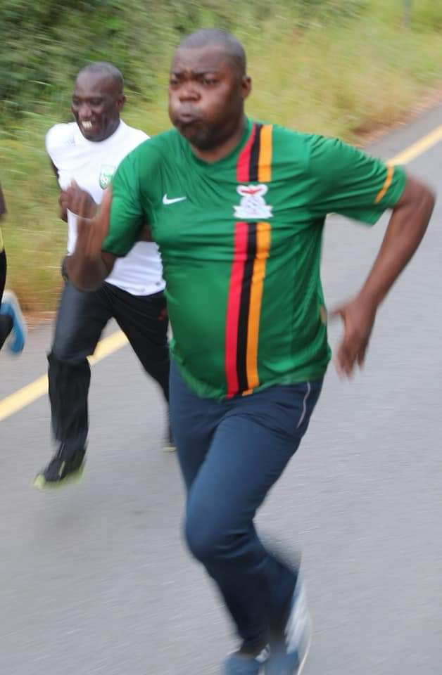 Jogging while the nation is starving