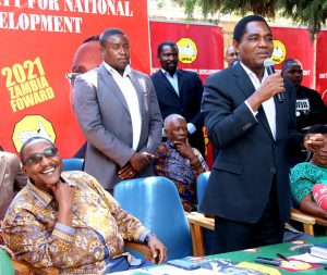 Lungu says HH will never be president