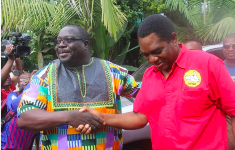 What will Hakainde and UPND gain from an alliance with Kambwili?