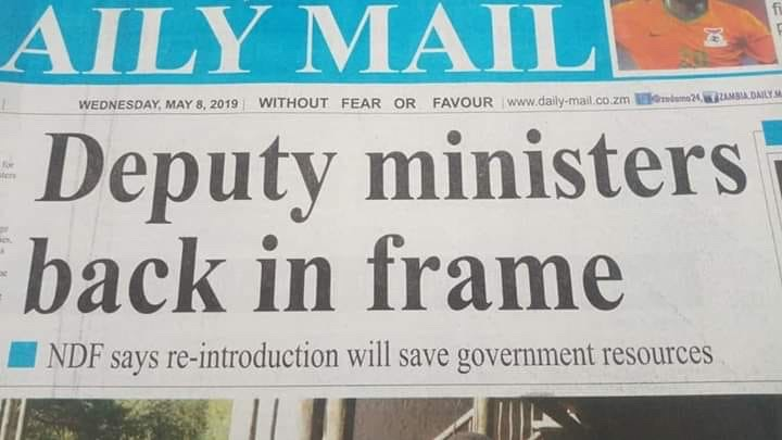 Bringing back deputy ministers is foolishness