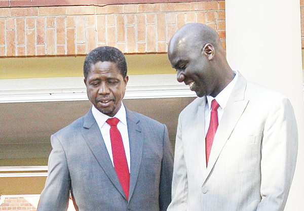 Lungu should stop following HH around