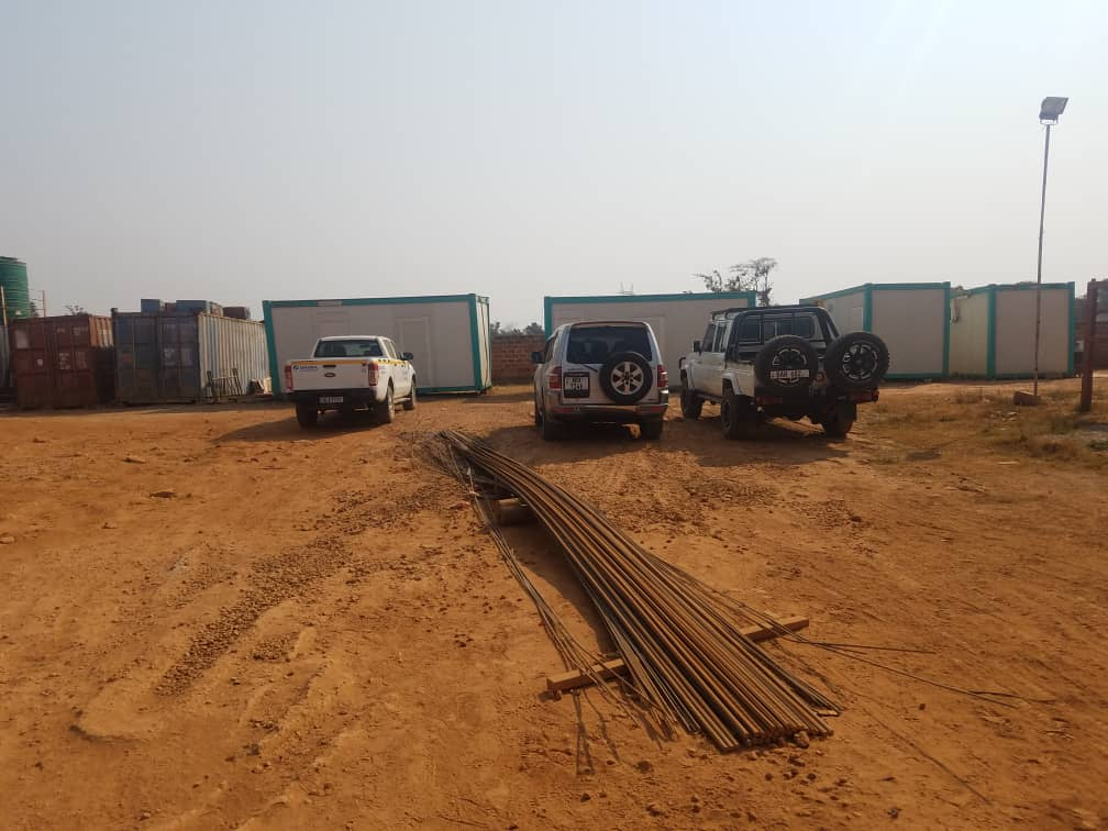Photo focus: construction of weigh bridge in North- Western