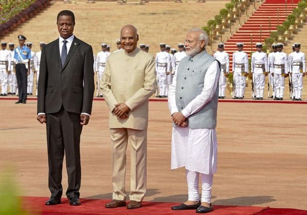 Zambia signs 6 developmental contracts with India