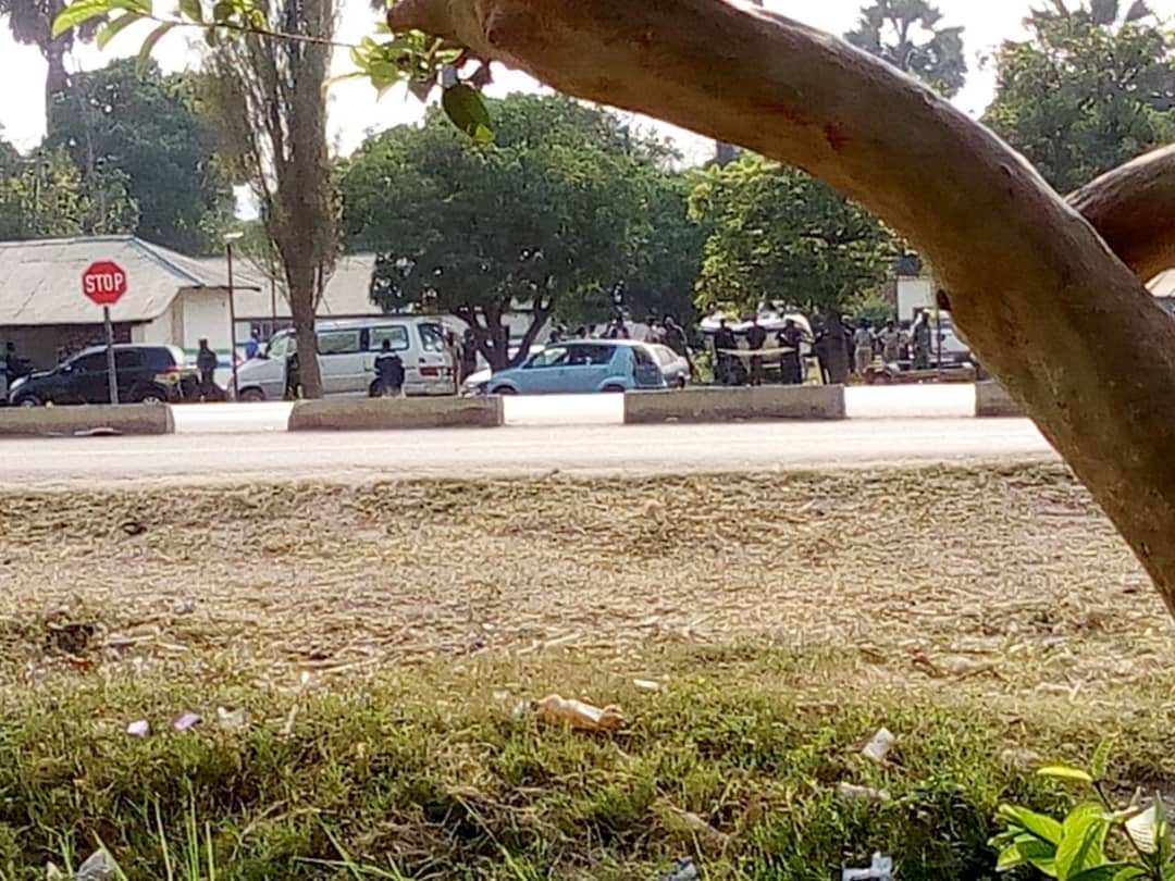 Police invade Kafue to block HH