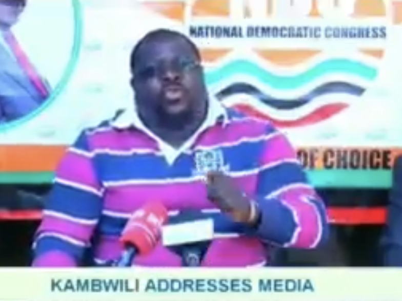 Kambwili accuses Lungu, Findlay of couriering drugs in presidential planes