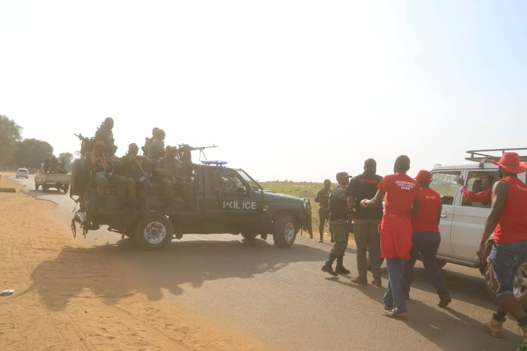 Police block HH from campaigning in Mangango