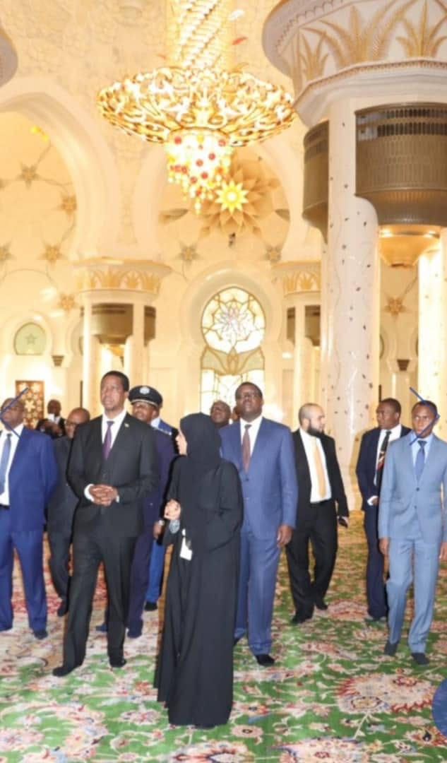 Lungu is just posing for photos in Abu Dhabi – Panji
