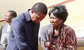 If Lungu won't stand, it's me, says Inonge Wina