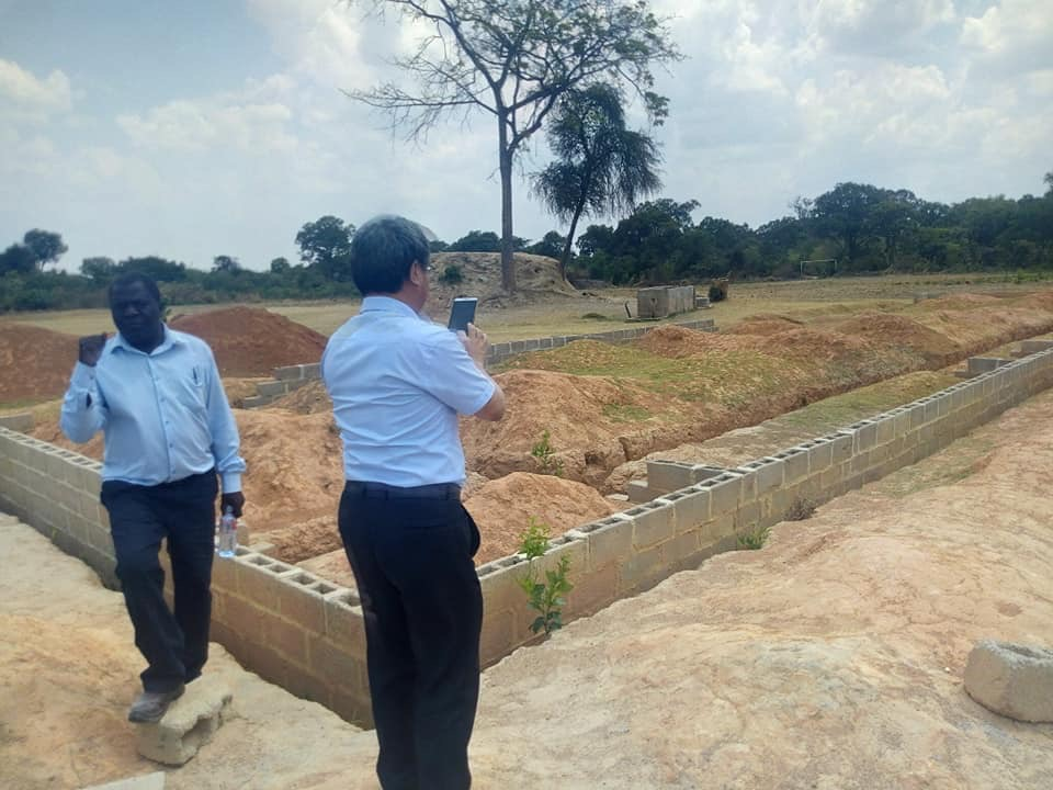 China builds 3 rooms at Chingola sch, govt happy