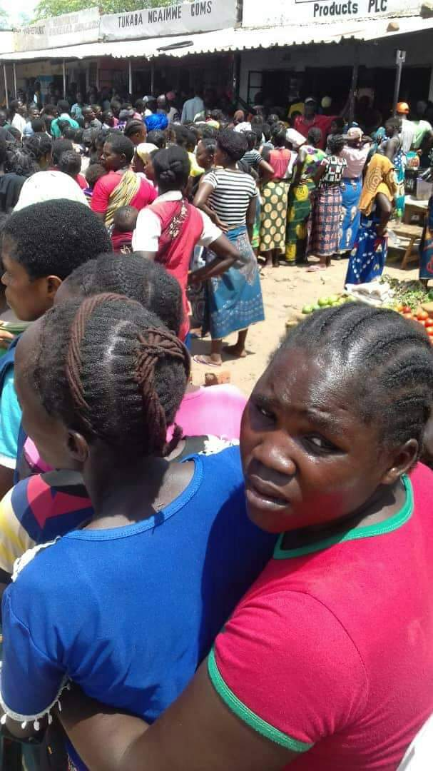 Photos of the day: no Millie meal in Sinazongwe