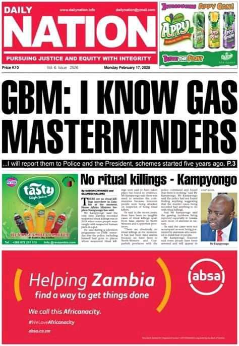 GBM and his knowledge of ritual killers