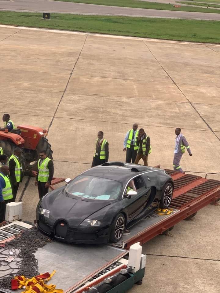 Bugatti was brought in Zambia by Haruperi to evade tax
