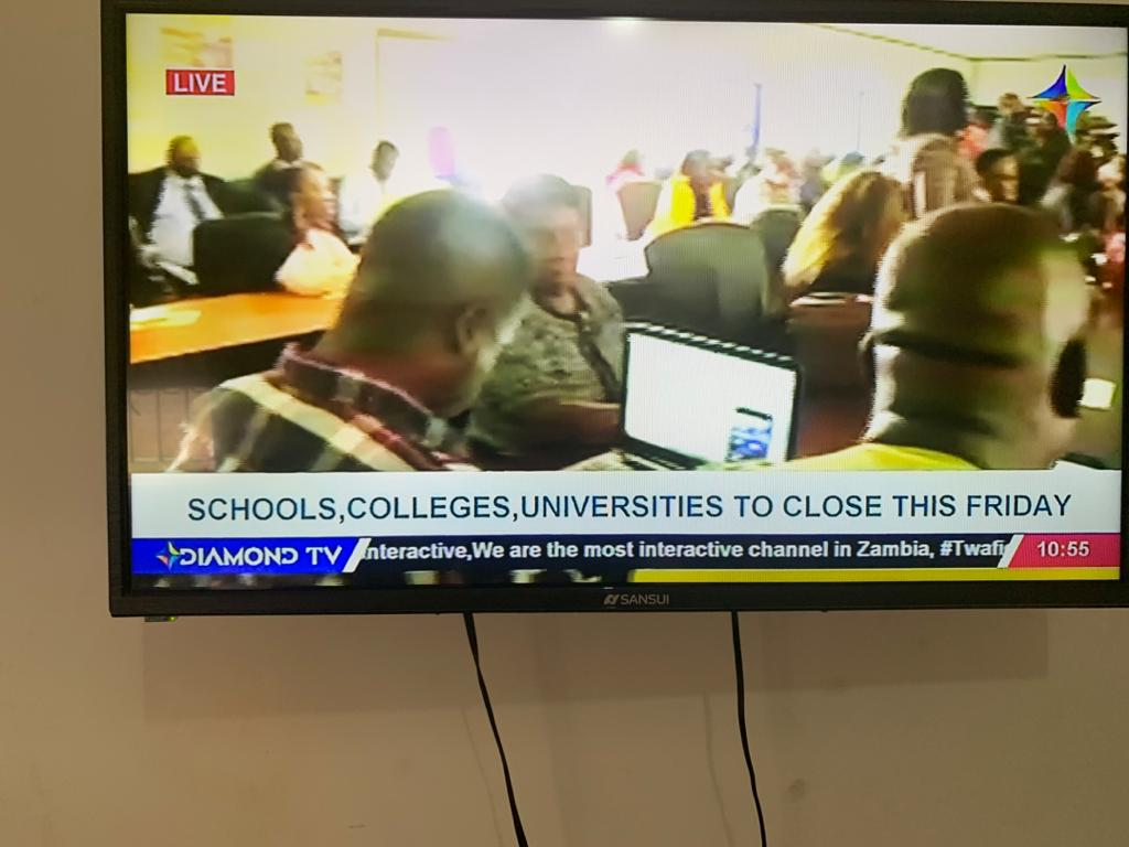 Govt closes all learning institutions but leaves airports open
