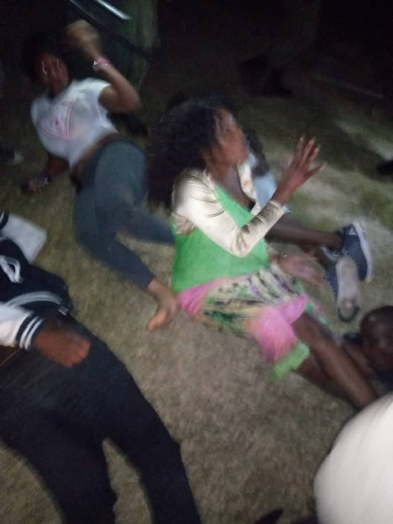 Police continue assaulting people alleged to breach covid-19 curfew