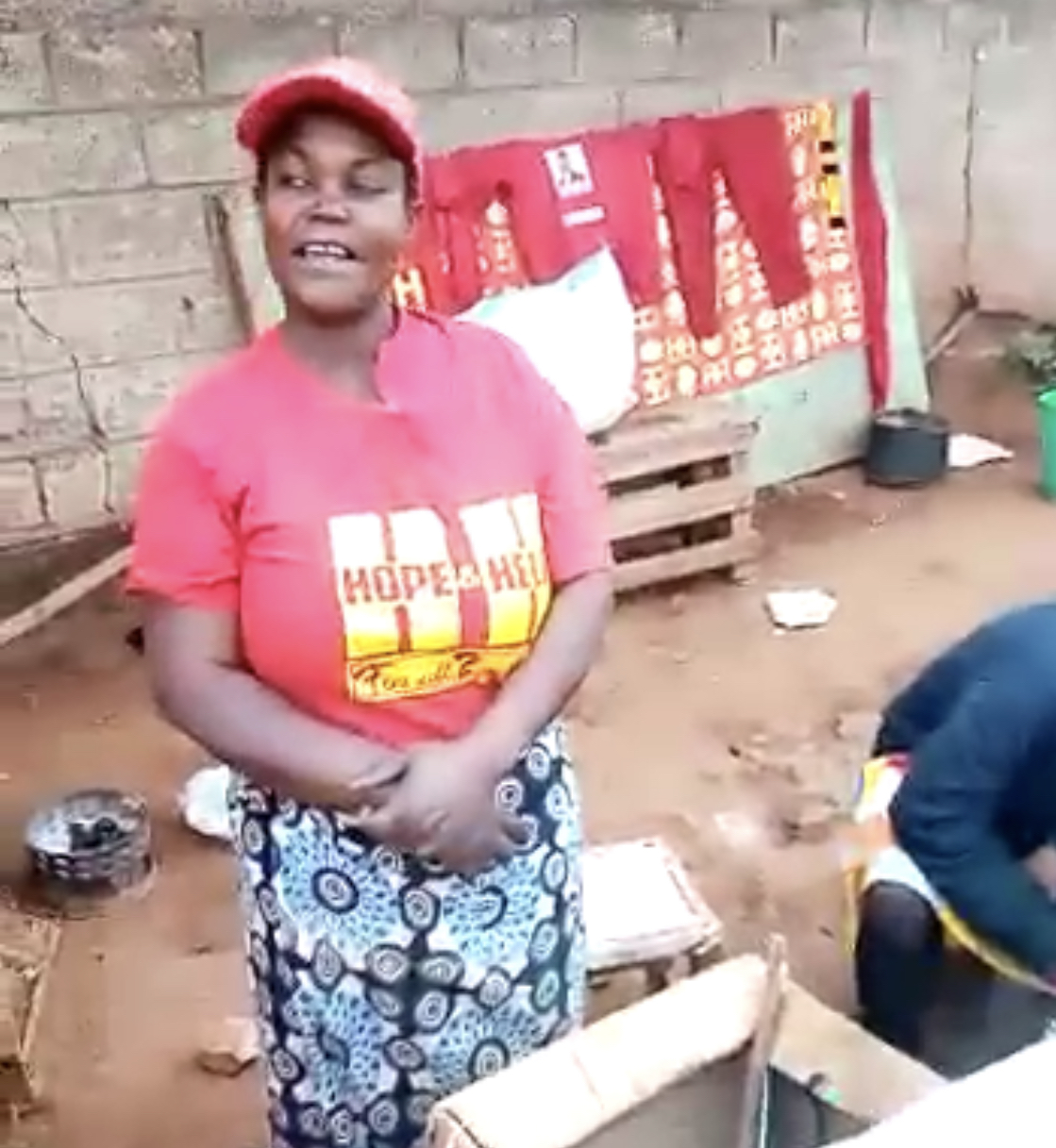 UPND lady defies PF thuggery