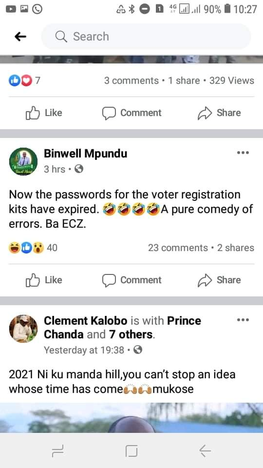 Now ECZ system asking voters for new passwords