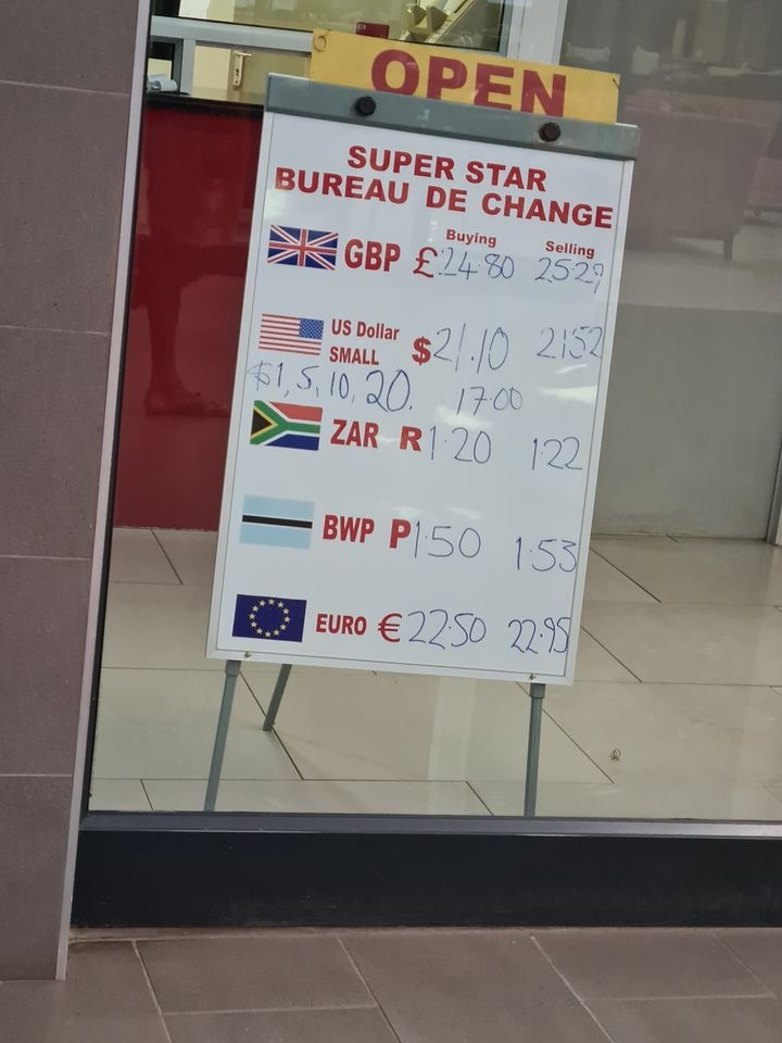 Kwacha continues going down