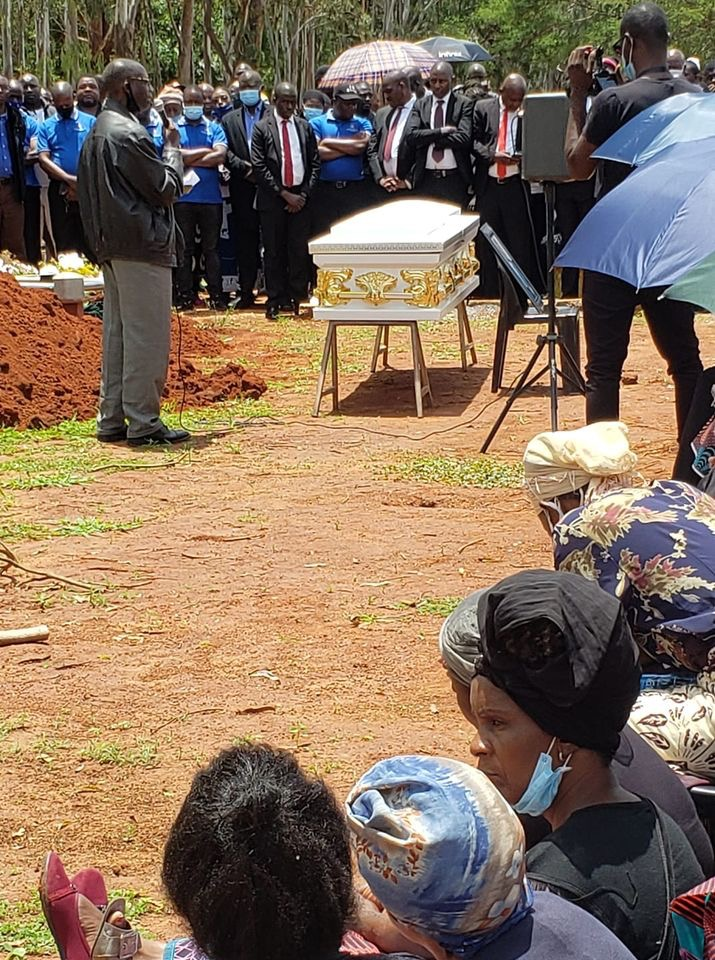 Citizen slain by police put to rest