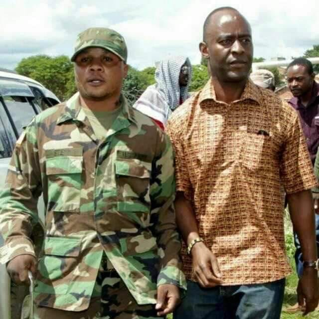 Photo of the day: PF thugs in military uniform
