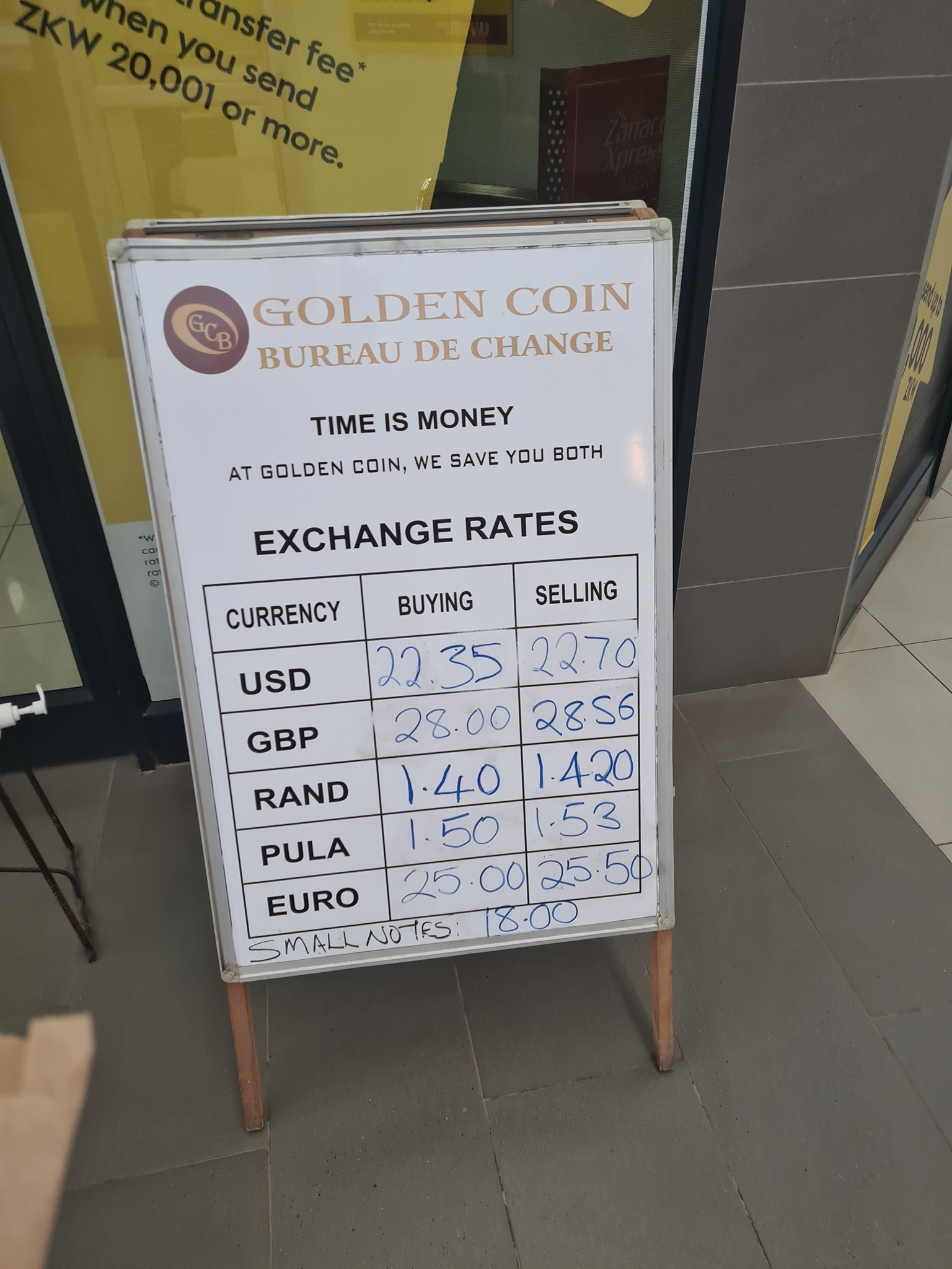 This is where the PF has left the Kwacha