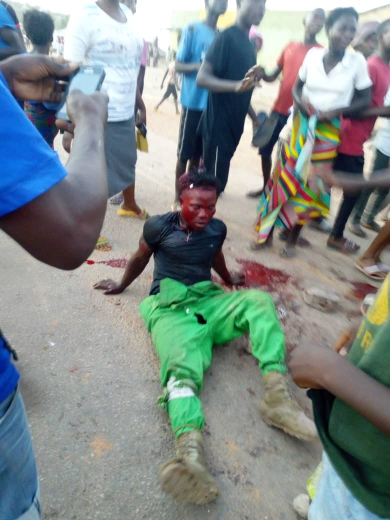 Mpulungu residents fight with PF cadres