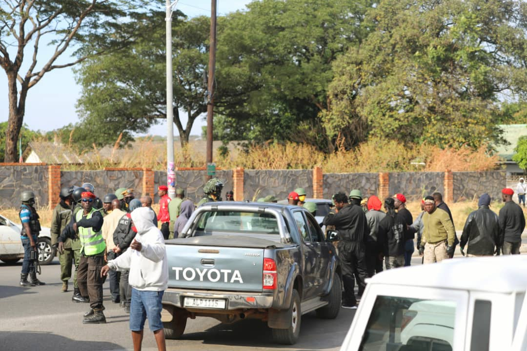 Police attack HH's convoy in Chingola