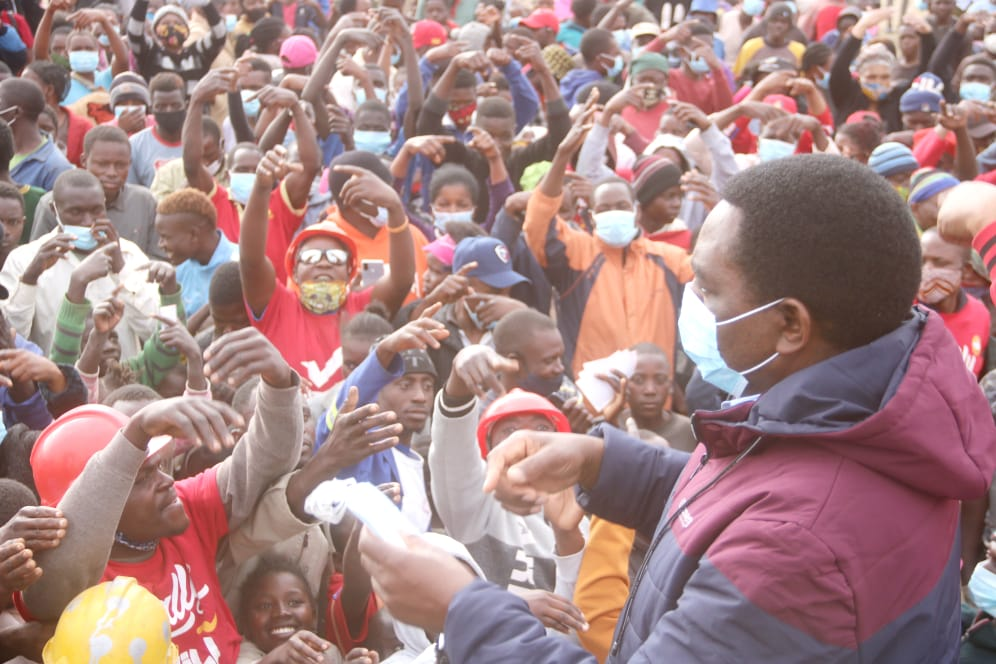 Mpulungu welcomes 'MP' in style