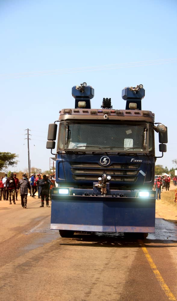 Police and PF fight Chingola residents
